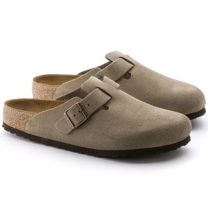 Birkenstock Boston Suede Classic Footbed