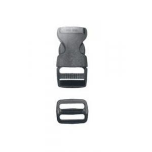 1 inch Side Release Buckle w/Slider