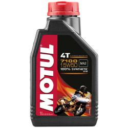 Maintenance and cleaning Motul 7100 15w50 4t