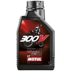 Maintenance and cleaning Motul 300v Fl Off Road 15w60