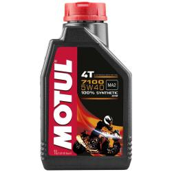 Maintenance and cleaning Motul 7100 5w40 4t