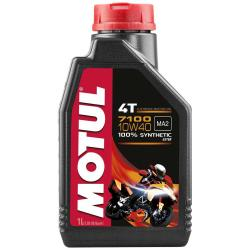 Maintenance and cleaning Motul 7100 10w40 4t