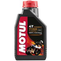 Maintenance and cleaning Motul 7100 10w50 4t