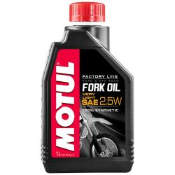 Maintenance and cleaning Motul Fork Oil Factory Line Very Light 2.5w