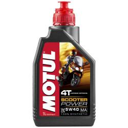 Maintenance and cleaning Motul Scooter Power 4t 5w40 Ma