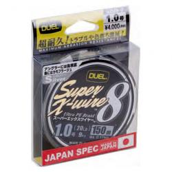 Braided lines Duel Super X Wire 8 150