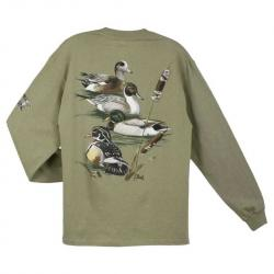 T-shirts long sleeve Al-agnew Aa Duck Collage