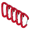 Carabiners Wildcountry Astro Anodised 5 Pack