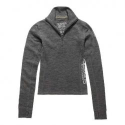 Sweatshirts and hoodies Superdry Merino Base Layer Half Zip Top