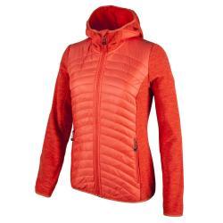 Fleeces Cmp Fix Hood Hybrid Jacket
