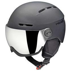 Helmets Head Knight Pro Black+sparelens 16/17