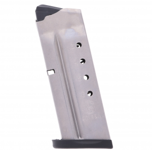 Smith & Wesson S&W M&P Shield 40 S&W 6-Round Stainless Steel Factory Magazine