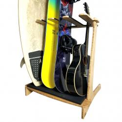 Freestanding Vertical Surf Rack & Snowboard Rack