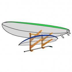 The O'ahu Series - Paddle Board Rack & Wakeboard Rack