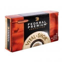 FEDERAL Vital-Shok 260 Rem. 120 Grain Nosler Ballistic Tip Ammo, 20 Round Box (P260B)