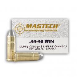 MAGTECH 44-40 Win. 200 Grain LFN Ammo, 50 Round Box (4440C)