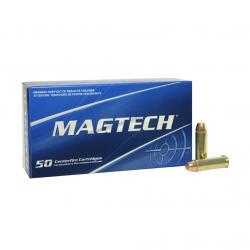 MAGTECH 38 Special 125 Grain FMJ Flat Ammo, 50 Round Box (38Q)