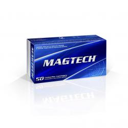 MAGTECH 357 Mag 158 Grain SJSP Flat Ammo, 50 Round Box (357A)