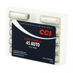 CCI Speer 45 ACP 117 Grain Shotshell Ammo, 10 Round Box (3745)