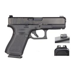 GLOCK G19 Gen 5 9mm 4in 15rd Mag Semi-Automatic Pistol with Night Sights (PA1950703)
