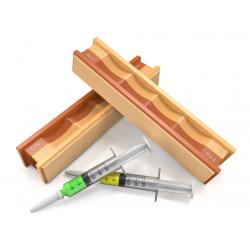 WICKED EDGE 5/3.5 Micron Diamond & Leather Strops Pack (WE0503.5)