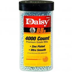 DAISY 40 Bottle .177 Zinc-Plated Steel 4000ct BB's (980040-446)
