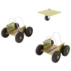 Black Ice Drivable Snowmobile Dolly