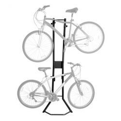 Apex BR-STD Garage Wall Bike Storage Stand & Vertical Rack, Fits 2 Bikes