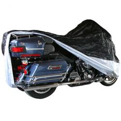 Extra Large Water-Resistant Cover for Touring & Full Dress Cruiser Motorcycles with Fairings or Bags