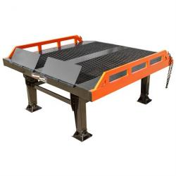 Steel Yard Ramp Platform - 22,000 lb. Capacity