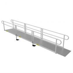 "18' L x 36"" W Solid Surface EZ-Access(R) Pathway Solo Ramp"