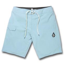 "Volcom Lido Solid Mod-Tech (Cool Blue) 20"" Boardshorts"
