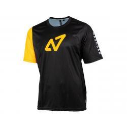Nashbar Enduro Sport MTB Short Sleeve Jersey (Black) (XS) - NB1000-XS