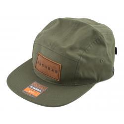 Nashbar 5-Panel Hat w/Nashbar Patch (Green) - NA-2020H