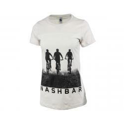Nashbar Short Sleeve T-Shirt (Cream) (Women's) (L) - NA-2020F-FL