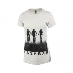 Nashbar Short Sleeve T-Shirt (Cream) (Women's) (M) - NA-2020F-FM