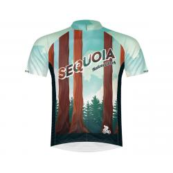 Primal Wear Men's Short Sleeve Jersey (Sequioa National Park) (2XL) - SEQ1J20M2