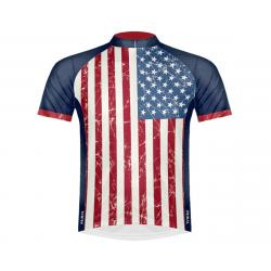 Primal Wear Men's Short Sleeve Jersey (Stars & Stripes) (2XL) - STARJ20M2