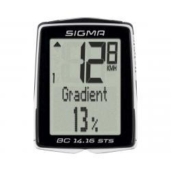 Sigma BC 14.16 STS Cadence Bike Computer (Black) (Wireless) - 01418
