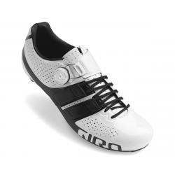 Giro Factor Techlace Road Shoes (White/Black) (45) - 7077056