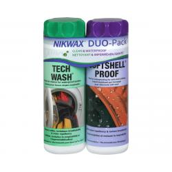 Nikwax Tech Wash/Softshell Proof DUO Pack - DL112