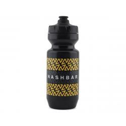 Nashbar Water Bottle with MoFlo Lid (22oz) (Stripe) - NBBOTTLE-STRIPE-SHORT