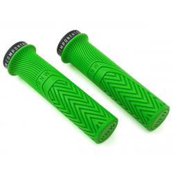 PNW Components Loam Mountain Bike Grips (Moto Green) - LGA25GK