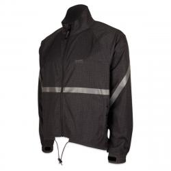 Running Room Unisex Printed Reflective Jacket