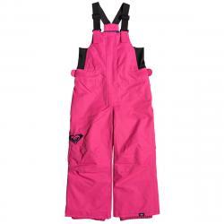 Roxy Lola Bib Pant | Toddler Girls |19/20  | Pink | Size 4