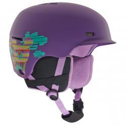 Anon Flash Helmet   Kids   18/19   Purple   Size L/XL