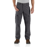 Carhartt Mens 104200 Factory 2nd Force Relaxed Fit Ripstop Cargo Work Pant - Shadow 34W x 32L