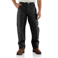 Carhartt | Men's B01 Factory 2nd Double Front Work Pant | Black | 31W x 30L | Loose-Original Fit | 100% Cotton Duck | 12 Ounce | Dungarees