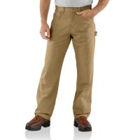 Carhartt Mens B159 Factory 2nd Canvas Carpenter Loose Fit Pant - Golden Khaki 34W x 32L