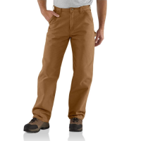 Carhartt | Men's B11 Factory 2nd Washed Duck Pant | Carhartt Brown | 34W x 32L | Loose-Original Fit | 100% Washed Cotton Duck | 12 Ounce | Dungarees